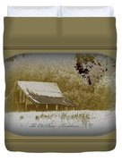 The Old Barn - Franklinton N.c. Duvet Cover