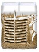 The Old Chevrolet Duvet Cover