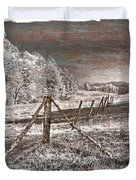 The Old Farm Duvet Cover