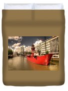 The Old Lightship Duvet Cover