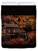 The Old Mill Stream Duvet Cover