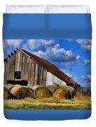 The Old Roadside Barn Duvet Cover
