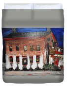 The Olde Bryan Inn Duvet Cover by Laurie Lundquist