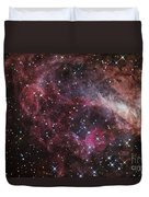 The Omega Nebula Duvet Cover