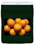 The Oranges Duvet Cover