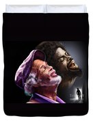 The Other Side-gil Scott Finally Going Home Duvet Cover