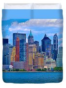 The Other Side Of The City Duvet Cover