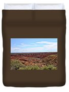 The Painted Desert Duvet Cover