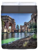 The Palace Of Fine Arts Duvet Cover