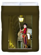 The Papal Swiss Guard Duvet Cover