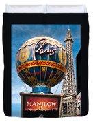 The Paris Duvet Cover