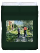 The Path Uphil Duvet Cover