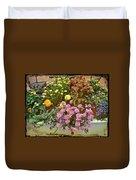 The Patio At Coffee O - Falmouth - Cape Cod - Massachusetts Duvet Cover