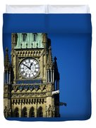 The Peace Tower, On Parliament Hill Duvet Cover