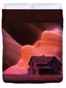 The Perfect Storm Duvet Cover by Bob Christopher