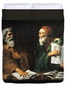 The Philosophers Duvet Cover