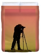 The Photographer Duvet Cover