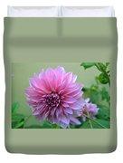 The Pink Dahlia-flower2 Duvet Cover