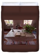 The Place Of The Bible In Kovero Duvet Cover