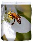 The Pollinator Duvet Cover