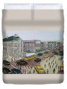 The Portsmouth Ohio Post Office On The Esplanade 1948 Duvet Cover