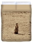 The Prairie Dog Duvet Cover