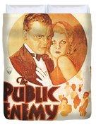 The Public Enemy Duvet Cover