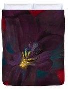 The Purple Lily Duvet Cover