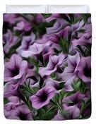 The Purple Sea Duvet Cover