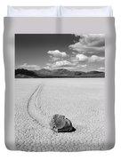Death Valley California The Racetrack 2 Duvet Cover