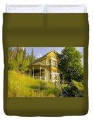 The Rainbow House Duvet Cover