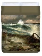The Rapids Above Niagara Duvet Cover