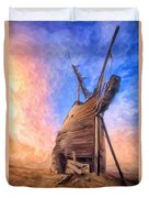 The Ravages Of Time Duvet Cover