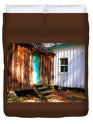 The Reagan House Kitchen Duvet Cover
