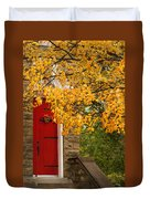 The Red Door Duvet Cover