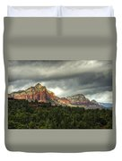 The Red Rocks Of Sedona  Duvet Cover