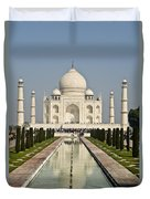 The Reflecting Pool In The Charbagh Or Duvet Cover