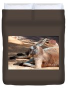 The Resting Roo Duvet Cover