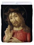The Resurrected Christ Duvet Cover