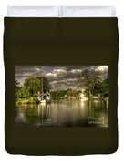 The River Thames At Streatley Duvet Cover