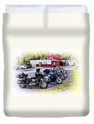 The Riverside Barr And Grill - Easton Pa Duvet Cover