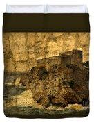 The Rock In Dubrovnik Duvet Cover