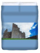 The Rock Of Cashel, Co Tipperary Duvet Cover