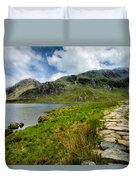 The Rocky Path Duvet Cover