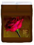 The Rose And Thorn Duvet Cover