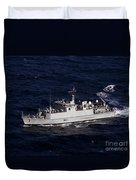 The Royal Navy Mine Countermeasures Duvet Cover