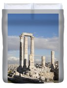 The Ruins Of The Ancient Citadel, Or Duvet Cover