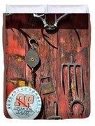 The Rusty Barn - Farm Art Duvet Cover