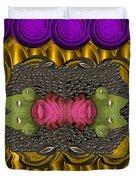 The Sacred Pond Pop Art Duvet Cover