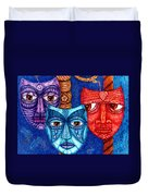 The Sadness The Mistrust And The Fatigue Duvet Cover